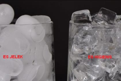 Kenapa jaman sekarang kalau mau minum es mesti pakai es Kristal ?